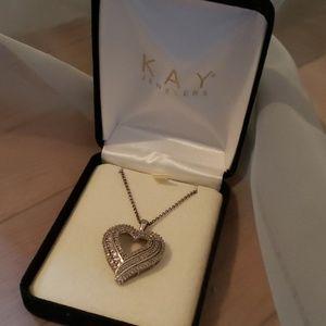 KAY Jewelers Big Diamond Necklace